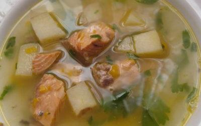 Рыбный суп из горбуши — 8 сытных рецептов пошагово с фото