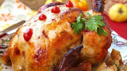 Курица с яблоками в духовке — 7 самых любимых рецептов