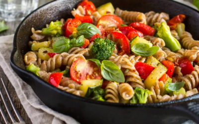 Макароны с овощами — 8 рецептов как приготовить просто и быстро