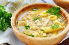 Суп с макаронами и картошкой — 6 рецептов, как приготовить просто