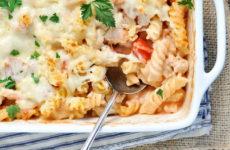 Запеканка с макаронами и курицей — 6 сытных рецептов
