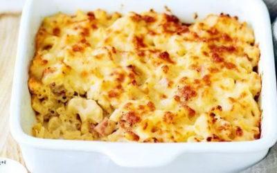 Запеканка из макарон с сыром — 7 пошаговых фото-рецептов