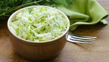 Быстрые салаты с уксусом — 7 самых простых рецептов
