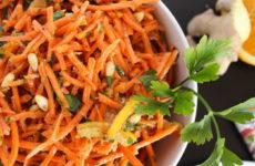 Быстрые салаты из моркови — 6 самых простых рецептов