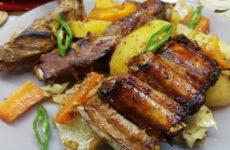 Картошка с копчеными ребрышками — 7 классных рецептов