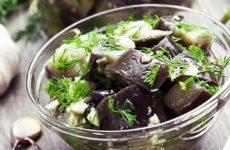 Маринованные баклажаны — 6 рецептов просто и быстро