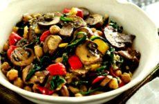 Нут с грибами — 7 простых и сытных рецептов