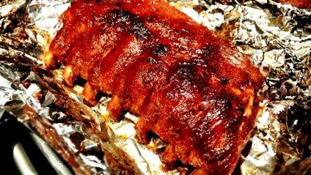 Ребрышки в фольге — 7 рецептов восхитительного мяса