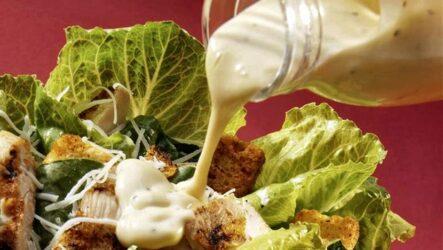 Заправка для салата Цезарь — 6 проверенных соусов