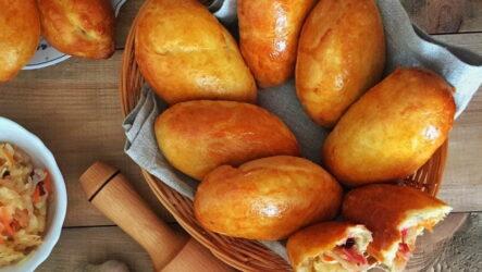 Быстрые пирожки в духовке — 6 простых рецептов