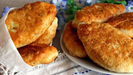 Быстрые жареные пирожки — 8 аппетитных фото-рецептов