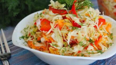 Капуста Провансаль — 8 рецептов витаминного салата