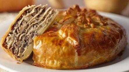 Курник на кефире — 6 рецептов сытного пирога