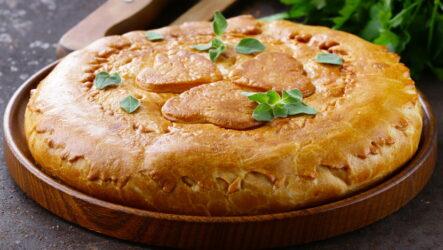 Курник на маргарине — 6 традиционных рецептов