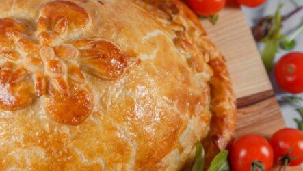 Курник на сметане — 8 рецептов праздничных русских пирогов