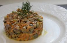 Обжорка с печенью — 7 рецептов сытного и вкусного салата