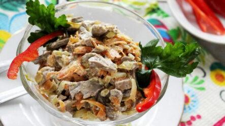 Салат Обжорка с говядиной — 7 сытных рецептов к празднику
