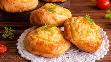 Шаньги с картошкой — 8 рецептов русской кухни