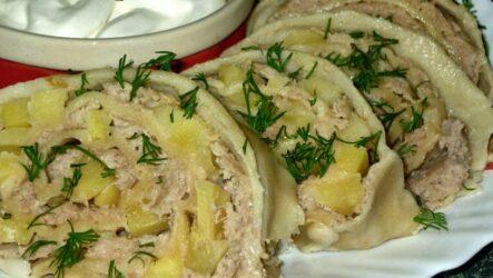 Ханум с картошкой — 8 рецептов с сытной начинкой