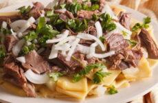 Бешбармак из говядины — 7 рецептов казахской кухни