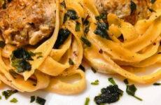 Гнезда из макарон с сыром — 6 пошаговых фото-рецептов