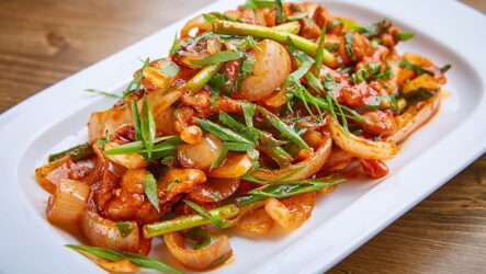 Курица хе — 7 корейских рецептов с фото