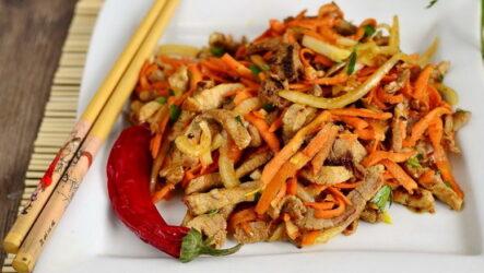 Салат хе из мяса — 7 рецептов из корейской кухни