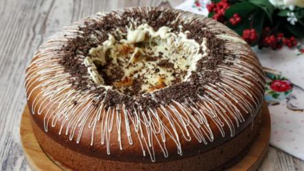 Вулкан — 6 рецептов оригинального пирога