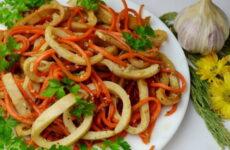 Хе из кальмаров — 7 лучших рецептов классной закуски