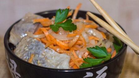 Хе из щуки — 8 рецептов острой рыбной закуски