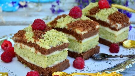 Бисквитные пирожные — 8 рецептов для семейного чаепития