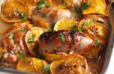 Курица с апельсинами и медом — 7 праздничных рецептов