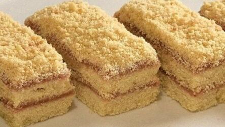 Песочная полоска — 7 рецептов из школьной столовой
