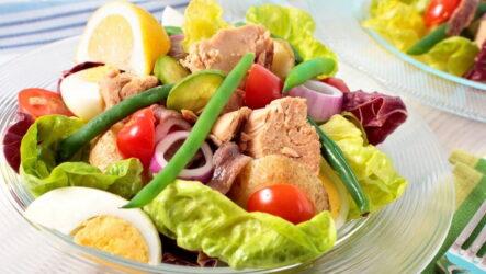 Белковый салат — 7 легких рецептов для стройной фигуры