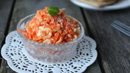 Салат Рыжик — 8 ярких рецептов с фото
