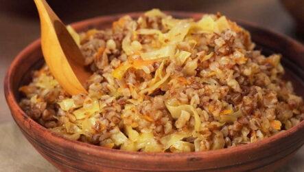 Гречка с капустой — 7 рецептов полезного ужина
