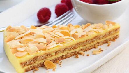 Миндальный торт — 6 рецептов нежного десерта