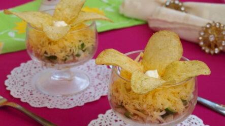 Салат Орхидея — 7 рецептов на праздничный стол