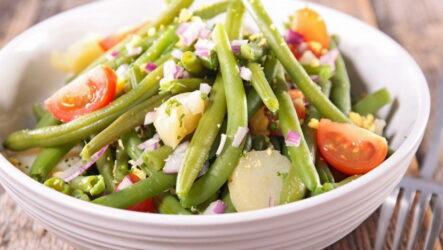 Салат с зеленой стручковой фасолью — 8 свежих рецептов