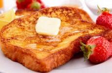 Сладкие гренки — 7 фото-рецептов для идеального завтрака