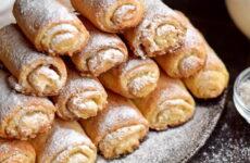 Творожные трубочки — 6 рецептов нежной выпечки