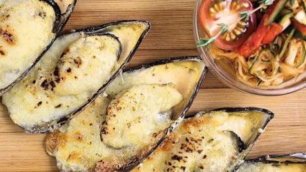 Мидии с сыром — 7 классных рецептов