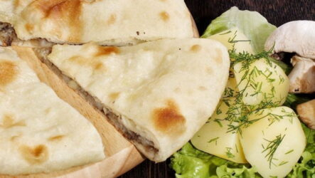 Осетинский пирог с картофелем — 7 домашних рецептов