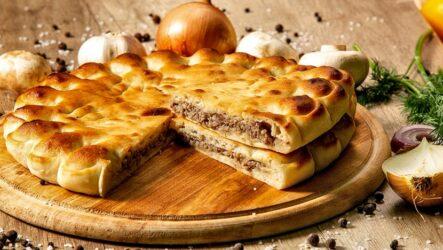 Осетинский пирог с мясом — 7 фото-рецептов