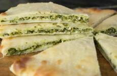 Осетинский пирог с зеленью — 6 традиционных рецептов