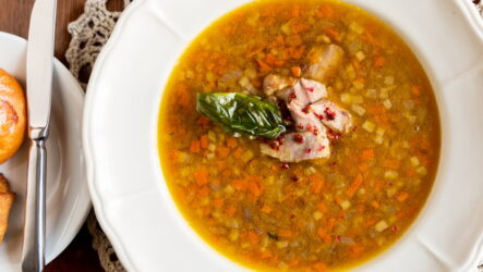 Суп с чечевицей и курицей — 7 пошаговых рецептов