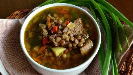 Суп из чечевицы с мясом — 7 рецептов сытного обеда