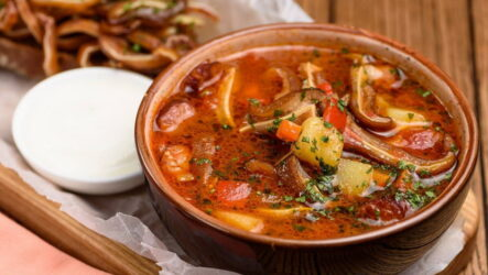 Суп Охотничий — 7 согревающих рецептов