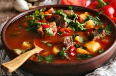 Венгерский суп — 7 любимых фото-рецептов