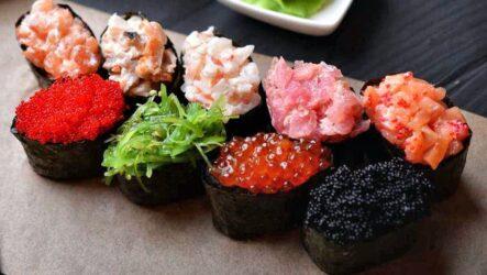 Гунканы — 6 рецептов суши из Японии